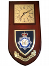 MOD Ministry of Defence Police Wall Plaque Clock